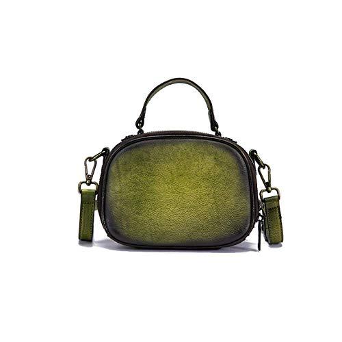 Rétro Couleur Simple De Diagonale Dames Sac Main Sac Fait Style à AJLBT Green Main Mode xq1I8w
