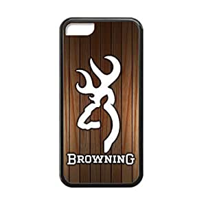 MEIMEIBrowning Deer Camo for ipod touch 4 Case White Cover 037804 Rubber Sides Shockproof Protection with Laser Technology Printing Matte ResultLINMM58281