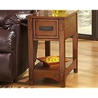 Ashley Furniture Signature Design - Breegin Chairside End...