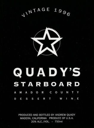 1996 Quady Starboard Vintage Red Port