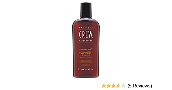 Amazon.com : American Crew Anti Hair Loss Thickening Shampoo 8.5 oz : Beauty