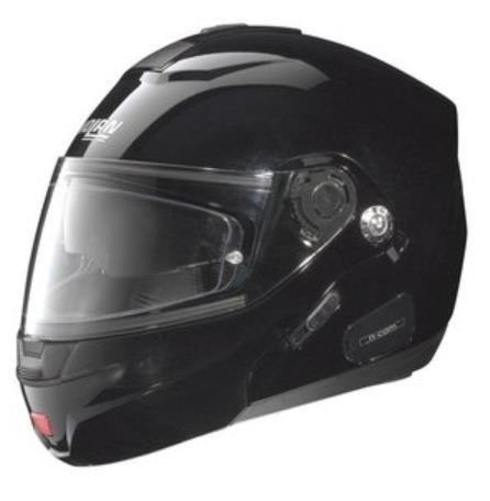 Nolan N44 Trilogy Outlaw Helmet (Metal Black,
