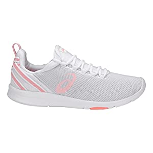 ASICS Women's Gel-Fit Sana 3 White/Begonia Pink/Glacier Grey 8 B US