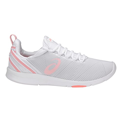 ASICS Womens Gel-Fit Sana 3 Running Shoe, White/Begonia Pink/Glacier Grey, 8 B(M) US