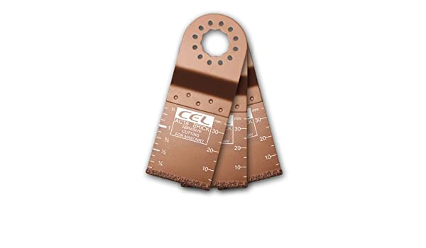 Juego de cuchillas para herramientas multifunci/ón oscilantes CEL AP08