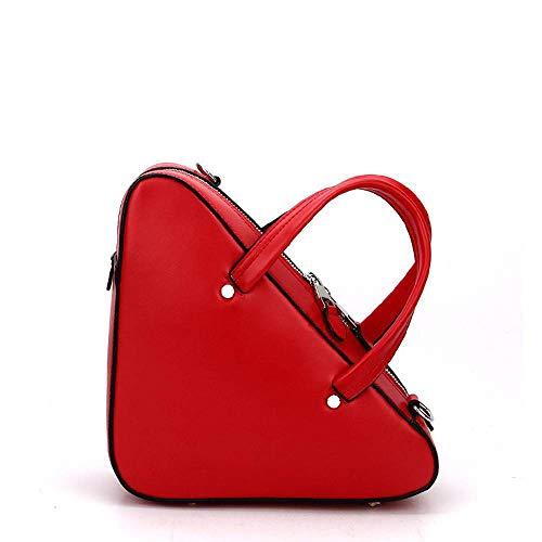 Geometry Package Bag Female C Bag Diagonal Baotan Hongge Leather Triangle Shoulder Cowhide Zvq4WzOwR