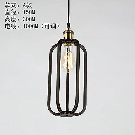 Ferro da stiro lampadari stile Liberty industriale lampadari di ...