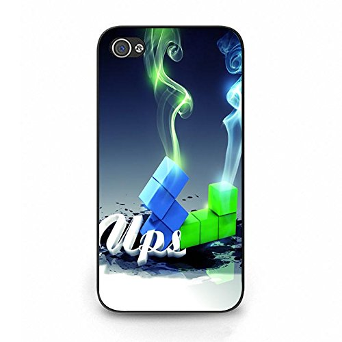 Iphone 4/4S Phone Case Tetris Creative Shoe Symbol Amusing Protective Cover
