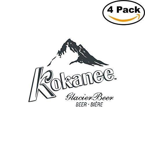 kokanee-beer-logo-alcohol-4-vinyl-stickers-decal-bumper-window-bar-wall-4x4