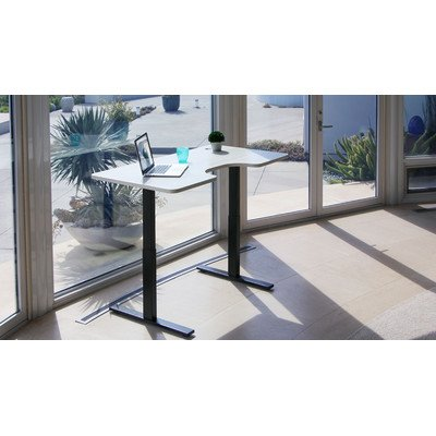 Autonomous SmartDesk - Height-Adjustable Standing Desk - Single Motor - DIY Black Frame (Table top not ()