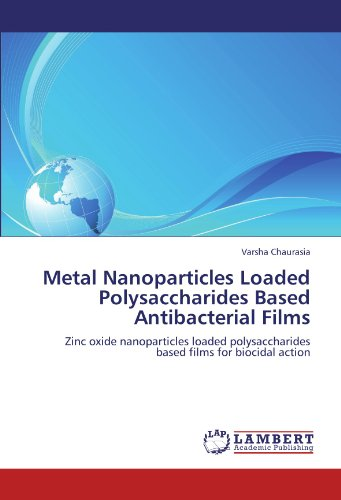Metal Nanoparticles Loaded Polysaccharides Based Antibacterial Films: Zinc oxide nanoparticles loaded polysaccharides based films for biocidal action