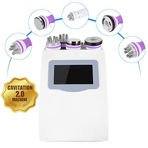 5 in 1 RF RF Face & Body Slimming & Shaping 3D Smart Technology Treatment Device Machine [US Warranty & US Based Tech Support] (3d Machine Ultrasound)