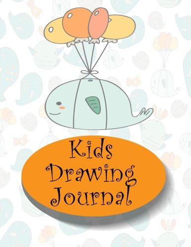 Kids Drawing Journal: Graph Paper Notebook, 8.5 X 11, 120 Grid Lined Pages (1/4 Inch Squares)