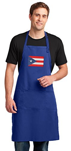Broad Bay Puerto Rico Apron LARGE SIZE for Men or Women -