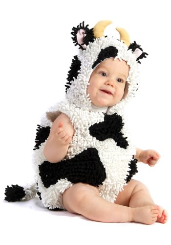 Cow Costumes Infant (Baby Cow Infant Toddler Halloween Costume sz sz 18M-2T)