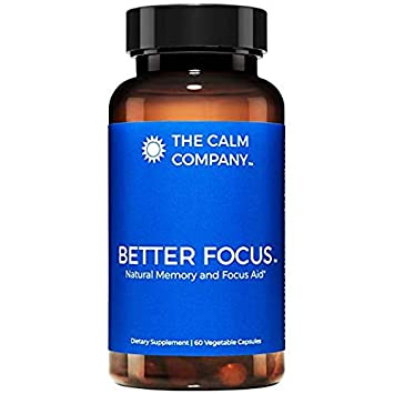 Better Focus - Nootropics Brain Support Supplement – Memory, Clarity, Energy & Focus Pills