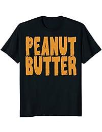 Peanut Butter T-Shirt Jelly Couples Friends Halloween Shirt
