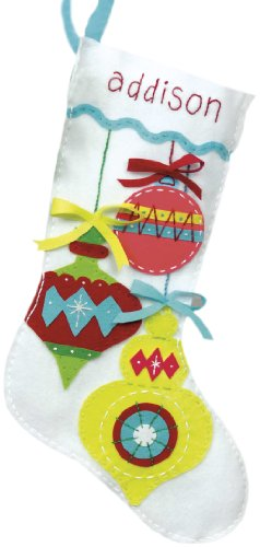 Dimensions Crafts Applique Stocking Ornament