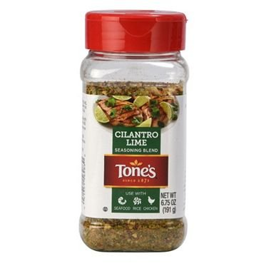 Tone's Cilantro Lime Seasoning 6.75 oz. A1