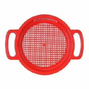 Spielstabil Large Sand Sieve - Red (Made in ()