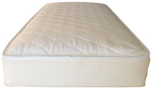 rganic Cotton Ultra/Quilted Mattress,  Twin (360 Coil) (Mattress 360 Coils)
