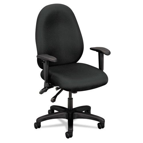 basyx VL600 Series High-Performance High-Back Task Chair, Charcoal (Series Vl600)