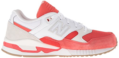 New Balance Women's W530 Classic Running Fashion Sneaker Coral Glow/White outlet high quality outlet many kinds of 6Y15H