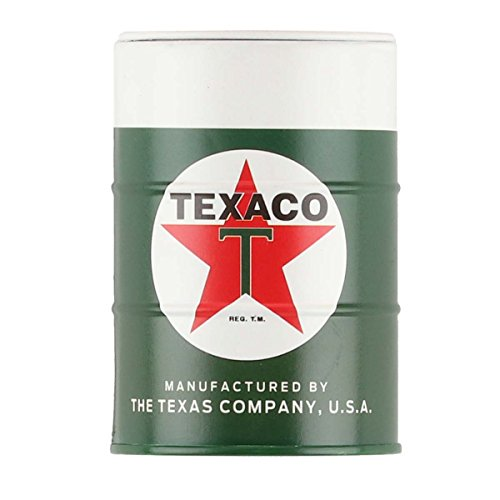 Open Road Brands Chevron Green Texaco Mini Oil Can an Officially Licensed Product Great Addition to Add What You Love to Your Home/Garage Decor/Office Space
