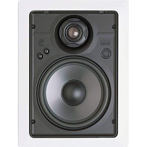 Niles HD6R 6-1/2' 2-Way High Definition in-Wall Loudspeakers with Bracket Kit - Pair (White)