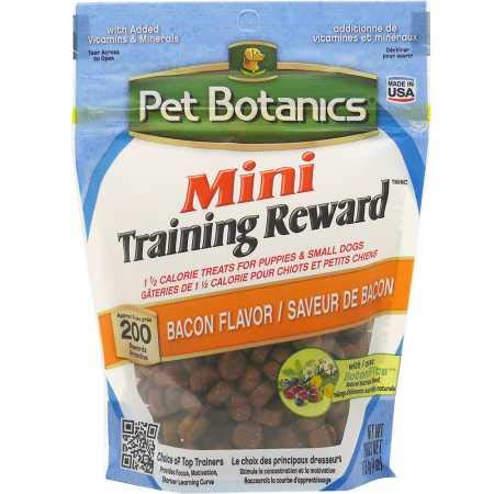 Pet Botanics Training Rewards Mini Treats For Dogs, Bacon, 4 Oz.