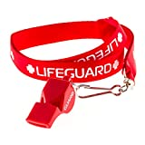 BLARIX Guard Whistle and Lanyard with Print