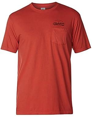 Mens Be Right Back Short-Sleeve Shirt