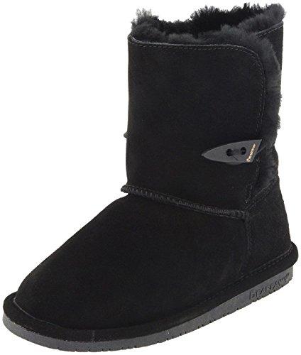 Price comparison product image BEARPAW Kid's ABIGAIL YOUTH Boot,  black ii,  11 M US Little Kid