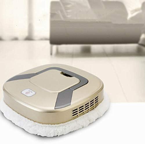RichescoJames Aspirateur Robot de Nettoyage Robot Multifonctionnel Chargement USB sans Fil dépoussiéreur de Sol Humide et Sec