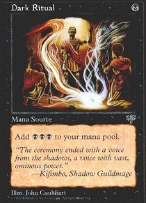 Magic: the Gathering - Dark Ritual - Mirage (Magic Dark Ritual)