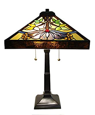 Fine Art Lighting M1669 Mission Style Table Lamp