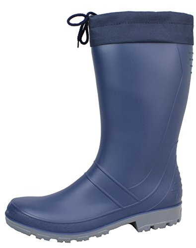 BOCKSTIEGEL® AXEL Men - High quality Rubber boots (Sizes: 36-47) Dk-Blue/Grey ZraREav