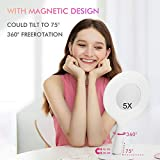 Lighted Makeup Mirror with 3 Colors Dimmable