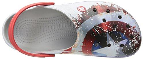 Mule Avengers Light Crocband Grey Crocs SAqY7x