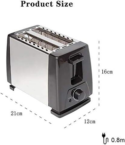 Tostapane, 2 Fetta Acciaio Inossidabile Tostapane 6 Variabile Browning Sbrinamento/Reheat/Annulla Rimovibile Vassoio Adatto per I Gadget per La Colazione A Casa