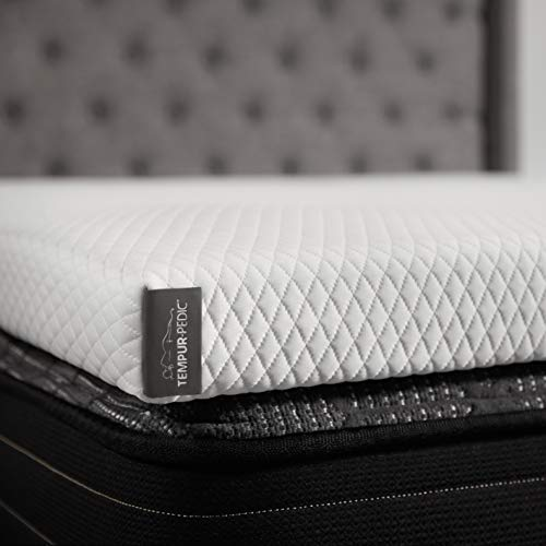 TEMPUR-Adapt + Cooling 3-Inch Twin Mattress Topper, Soft Luxury Premium Foam, Washable Cover