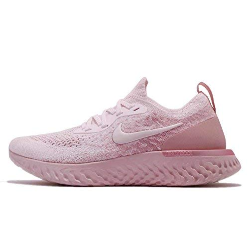 Nike Women's Epic React Flyknit Running Shoes (10, Pink)