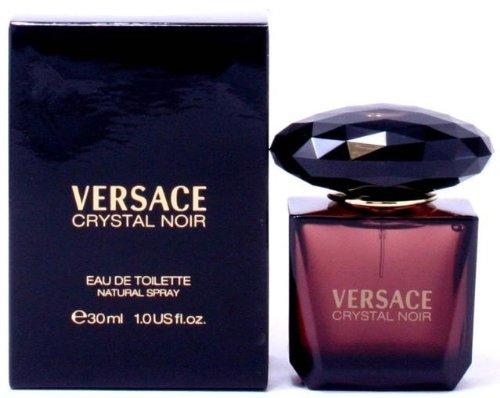 Versace Crystal Noir Eau de Toilette Spray for Women, 1.7 (Versace Gardenia Eau De Toilette)