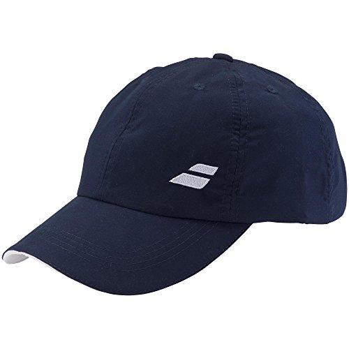 Babolat Hat (Babolat Basic Logo Cap-One Size Fits All-Dark Blue)