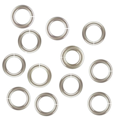 Sterling Silver 20 Ga 3 MM Open Jump Ring (Saw Cut) By Modern Findings (pack of 50)