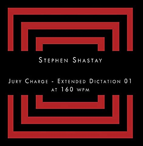 Jury Charge - Extended Dictation 01 at 160 wpm (Jury Charge)