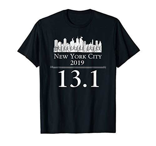 NYC Half Marathon Shirt New York City 2019 ()