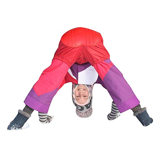SKI BUNS SLED Snow Wearable SLED SKI & SLED All in ONE SLED Pants Easy ON and Off Pull Over Outer Clothing JUST SIT and GO