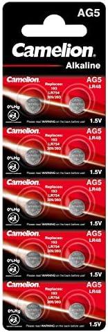 Camelion 12051005 Alkaline Knopfzellen Ohne Quecksilber Elektronik