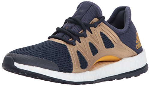 Performance Xpose legend 5 Gold Pureboost Ink Blue Medium Us Adidas tactile 6 Trace Women's BdqT4T